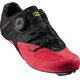 Mavic Sequence Elite Shoes Women Pirate Black/Fiery Coral/Black